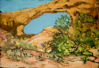 ARCHES CAMPGROUND ARCH 2
