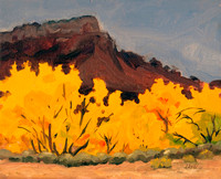 GHOST RANCH FALL WITH MESA