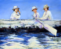 GIRLS ROWING