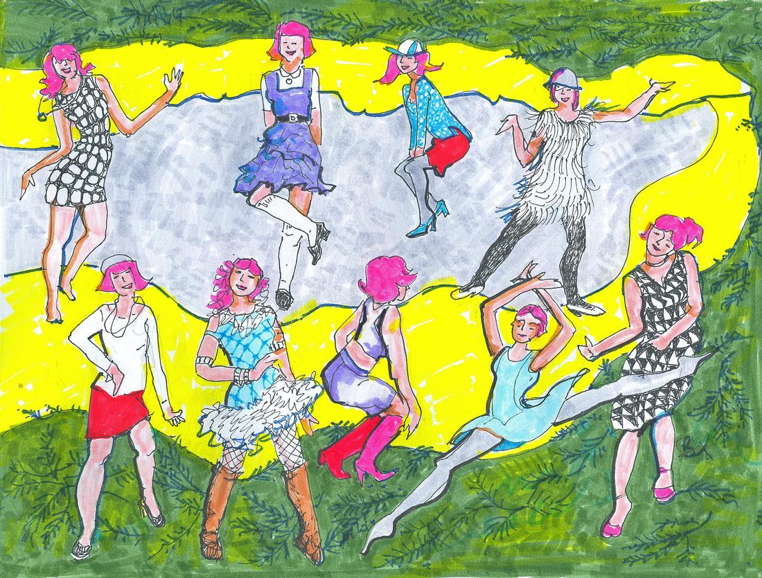 9. NINE LADIES DANCING